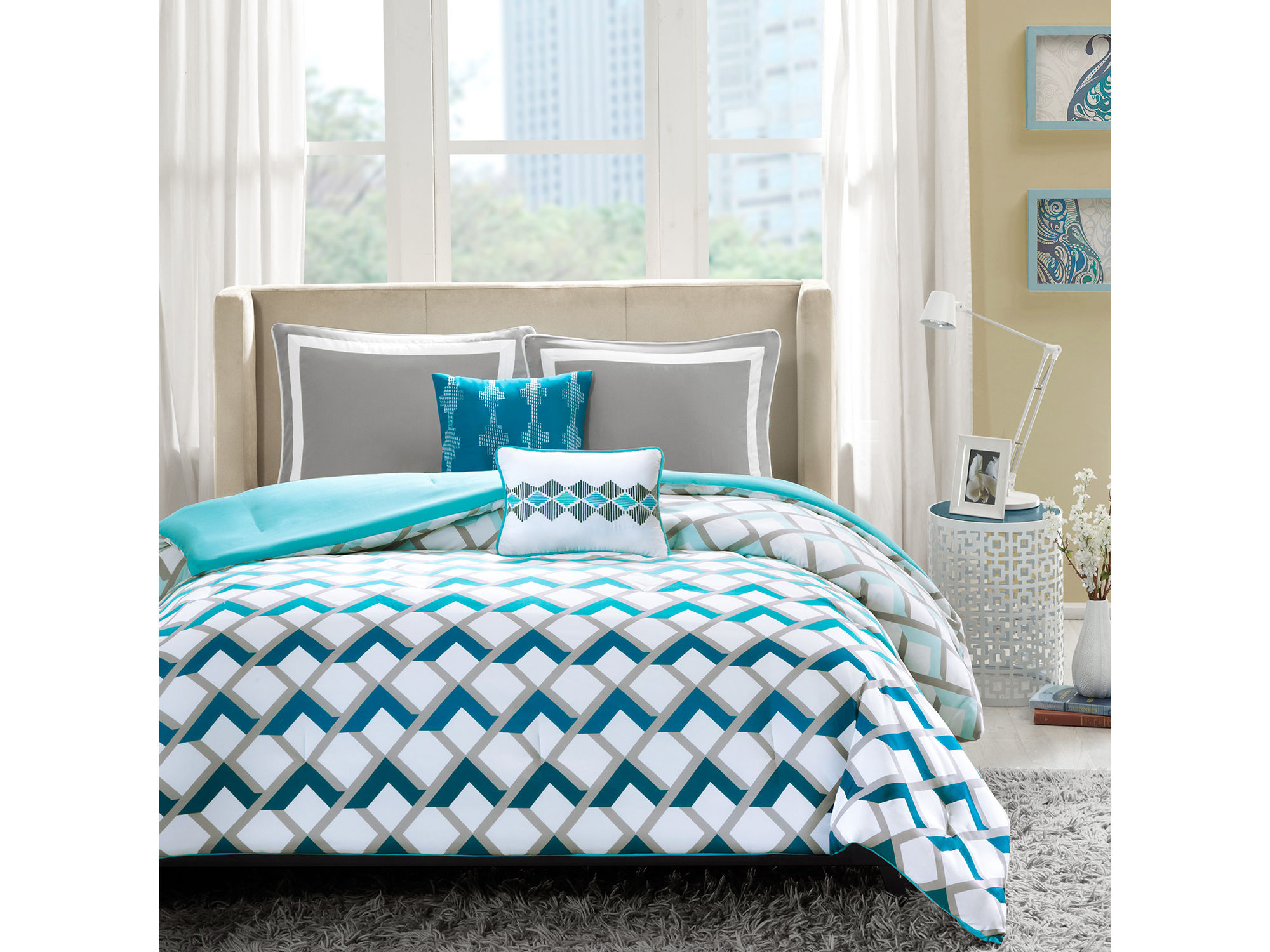 Geometric Comforter Sets