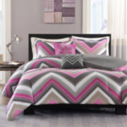 Intelligent Design Jada Chevron Comforter Set