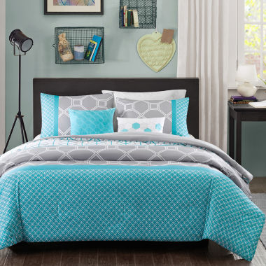jcpenney.com | Intelligent Design Zara Geometric Comforter Set