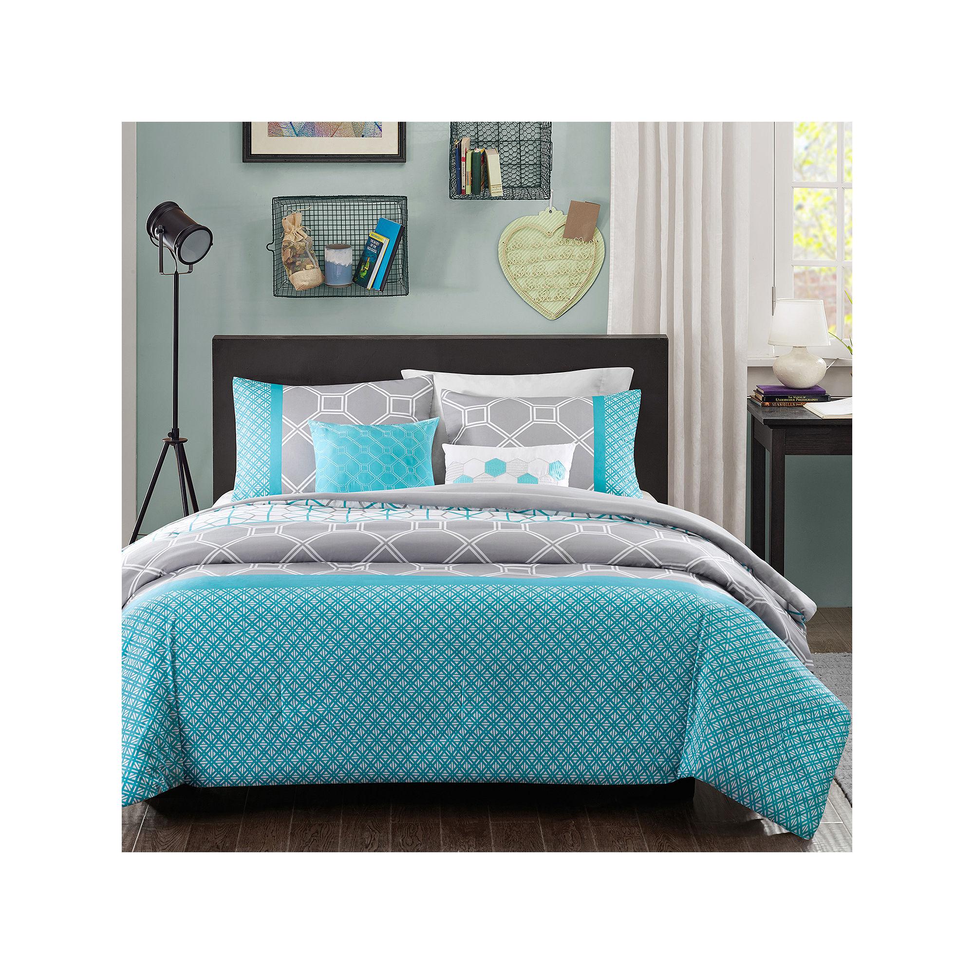Intelligent Design Zara Geometric Comforter Set ...