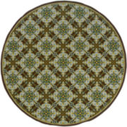 Tiles Indoor/Outdoor Round Rug