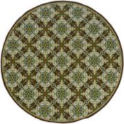 Tiles Indoor/Outdoor Round Rug