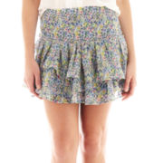 MNG by Mango® Floral Mini Skirt