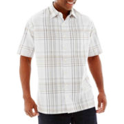 Van Heusen® Plaid Shirt-Big & Tall