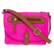 Rosetti® Mimosa Pippa Mini Triple-Zip Crossbody Bag
