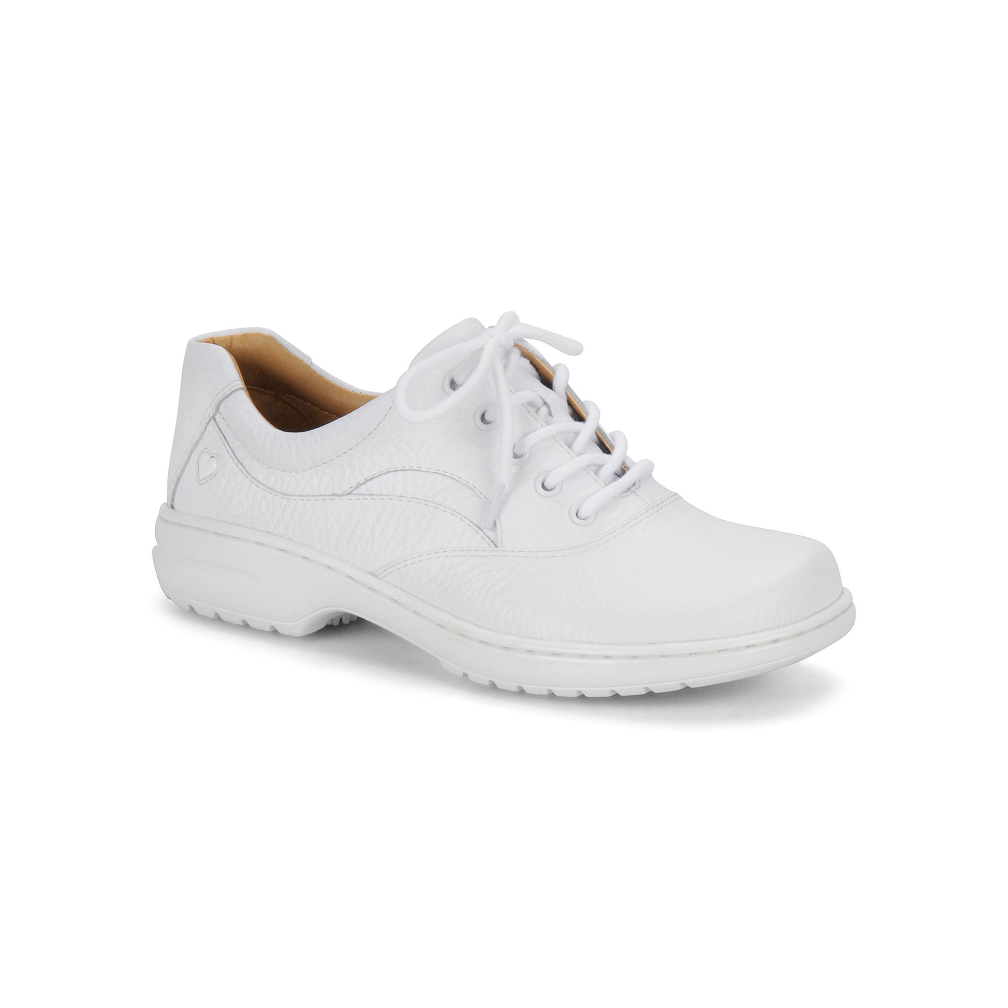 Nurse Mates Macie Leather Lace-Up Shoes plus size,  plus size fashion plus size appare