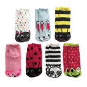 7-pk. No-Show Socks