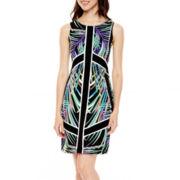 nicole by Nicole Miller® Sleeveless Print Shift Dress