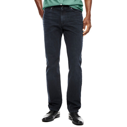 Claiborne Mens Overdyed Denim Jeans