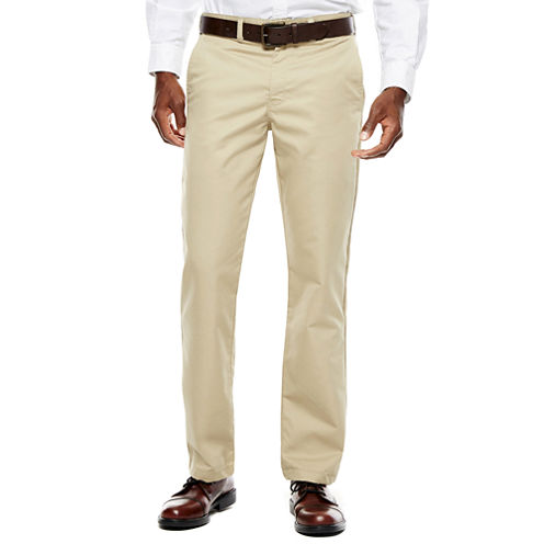 Dickies® Regular-Fit Flat-Front Khakis