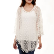 California Gypsies Fringe Poncho