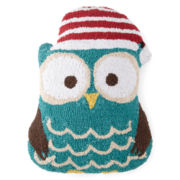 North Pole Trading Co. Hooked Shaped Owl Decorative Pillow