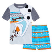 Disney Collection Olaf Pajama Set - Boys 2-10