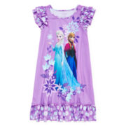 Disney Collection Frozen Nightgown - Girls 2-10