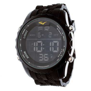 jcpenney.com | Everlast Black Rubber Digital Watch