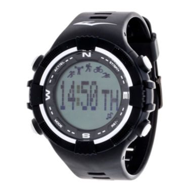 jcpenney.com | Everlast Black and White Pedometer Watch