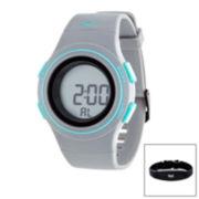 Everlast Gray Heart Rate Watch