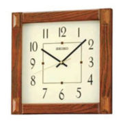 Seiko® Wall Clock - Brown QXA469BLH