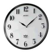 Seiko® Radio Wave Wall Clock Qxr131slh