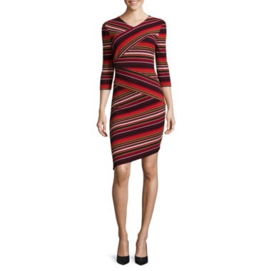 jcpenney.com | Weslee Rose Elbow-Sleeve Bodycon Dress