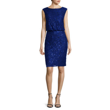jcpenney.com | Scarlett Sleeveless Sequined Short Dress - Tall