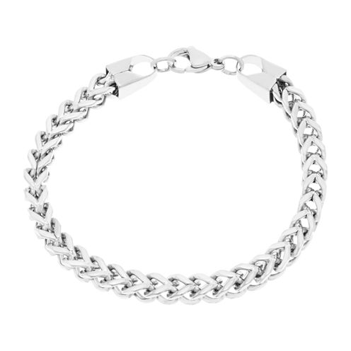 Stainless Steel Wheat Chain Bracelet