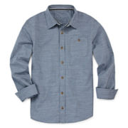 Arizona Long-Sleeve Woven Shirt - Boys 8-20 and Husky