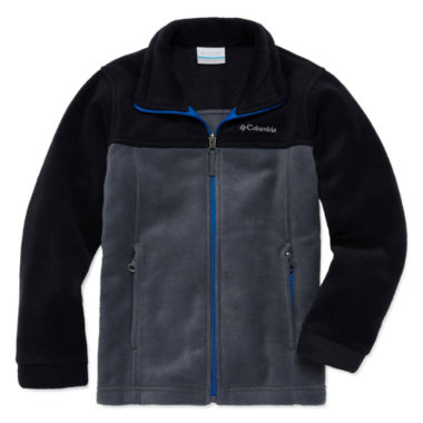 jcpenney.com | Columbia® Flattop Ridge Long-Sleeve Full-Zip Fleece Jacket - Boys 8-20