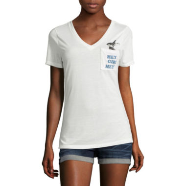 jcpenney.com | Arizona Easy Vee Pocket Tee - Juniors