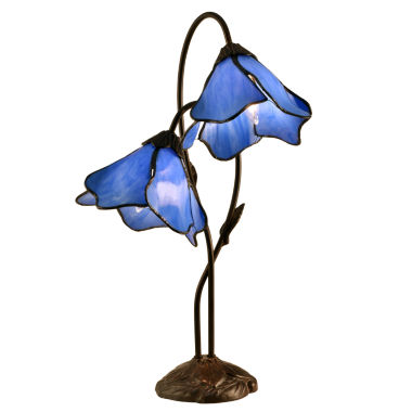 jcpenney.com | Dale Tiffany™ 2-Light Poelking Lily Lamp