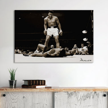 jcpenney.com | Muhammad Ali Vs. Sonny Liston, 1965 by Unknown Artist Canvas Wall Art