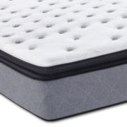 Sealy Posturpedic Plus Iguaza Fall Plush Euro Pillow Top - Mattress Only