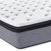 Sealy Posturpedic Plus Iguaza Fall Plush Euro Pillow Top - Mattress Only