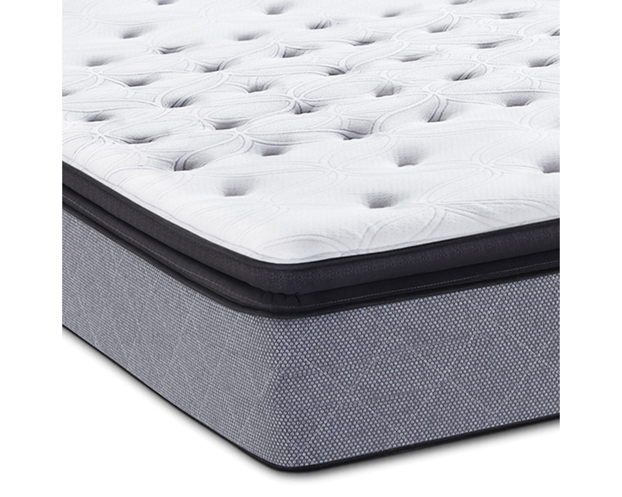 Sealy Posturepedic Iguaza Falls Cushion Firm Euro Pillow-Top - Mattress Only