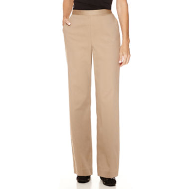 jcpenney.com | Alfred Dunner® Textured Pull-On Pants