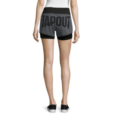 jcpenney.com | Tapout® Warrior Woven Knit Mix Graphic Shorts