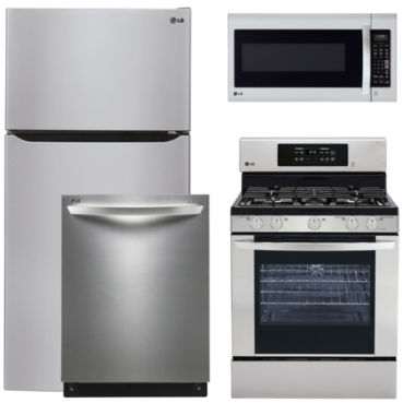 jcpenney.com | LG 4-pc. Gas Kitchen Package