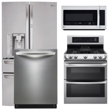 jcpenney.com | LG 4-pc. Gas Kitchen Package- Stainless Steel