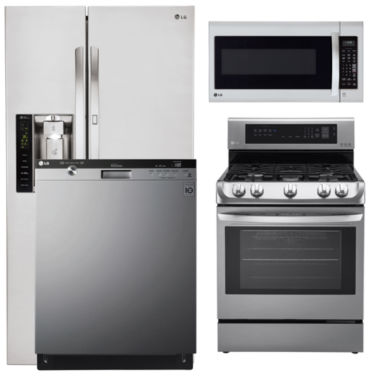 jcpenney.com | LG Side-by-Side 4-pc. Kitchen Package