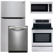 LG Top-Mount 4-pc. Kitchen Package