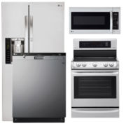 LG Side-by-Side 4-pc. Kitchen Package