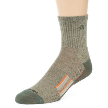 jcpenney.com | adidas® Mens 2-pk. climalite® Performance Short Crew Socks