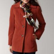 Liz Claiborne Scarf Coat