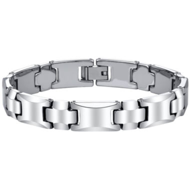 jcpenney.com | Men's Polished Tungsten Bracelet