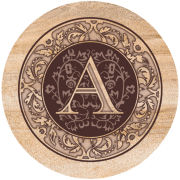 Thirtystone Monogram Coaster Sets