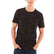 William Rast™ Giles Camo Pocket Tee
