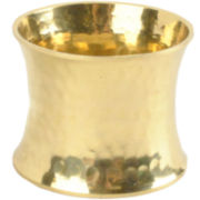 4-pc. Hammered Gold-Tone Napkin Ring Set
