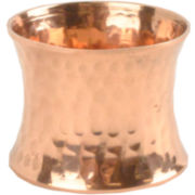 4-pc. Hammered Copper-Tone Napkin Ring Set