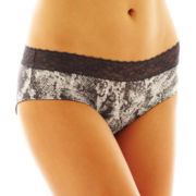 Cosmopolitan Ruched Lace Hipster Panties