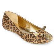 Mixit™ Leopard-Print Ballet Flats